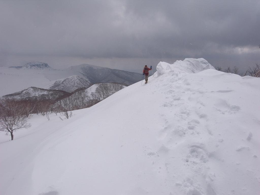 4月2日、風不死岳-北尾根-_f0138096_13592020.jpg