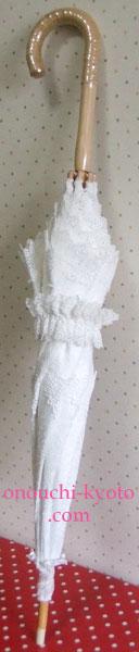 純白の Wedding Parasol_f0184004_9251024.jpg
