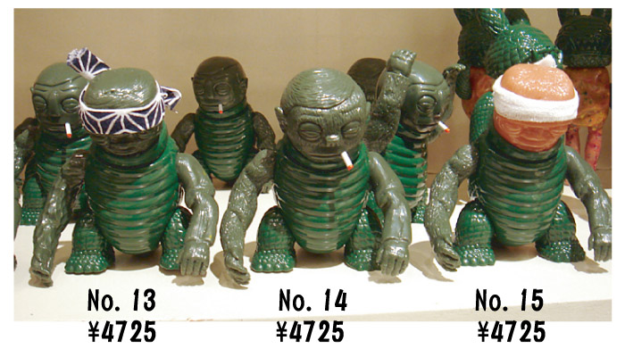 「Kaiju For Grody Ups」怪獣カスタムソフビ展!_f0010033_18364871.jpg