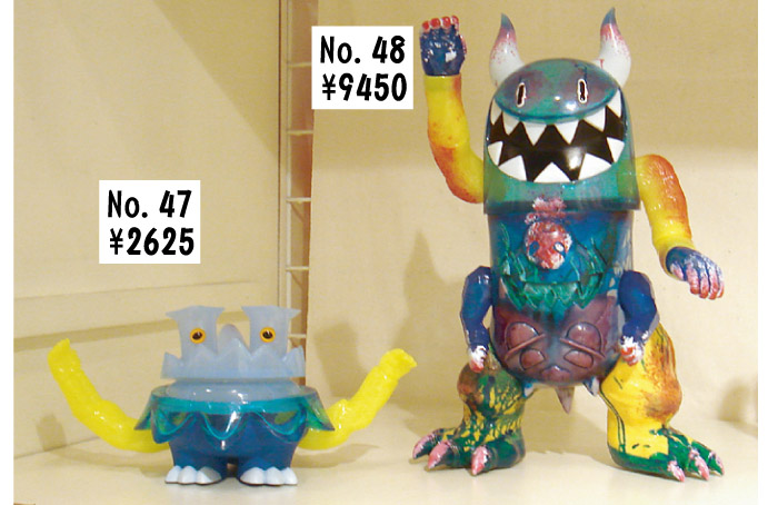 「Kaiju For Grody Ups」怪獣カスタムソフビ展!_f0010033_18375873.jpg