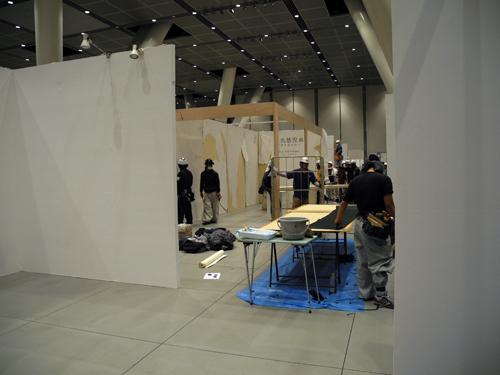 アートフェア東京 前日搬入_b0052471_948869.jpg