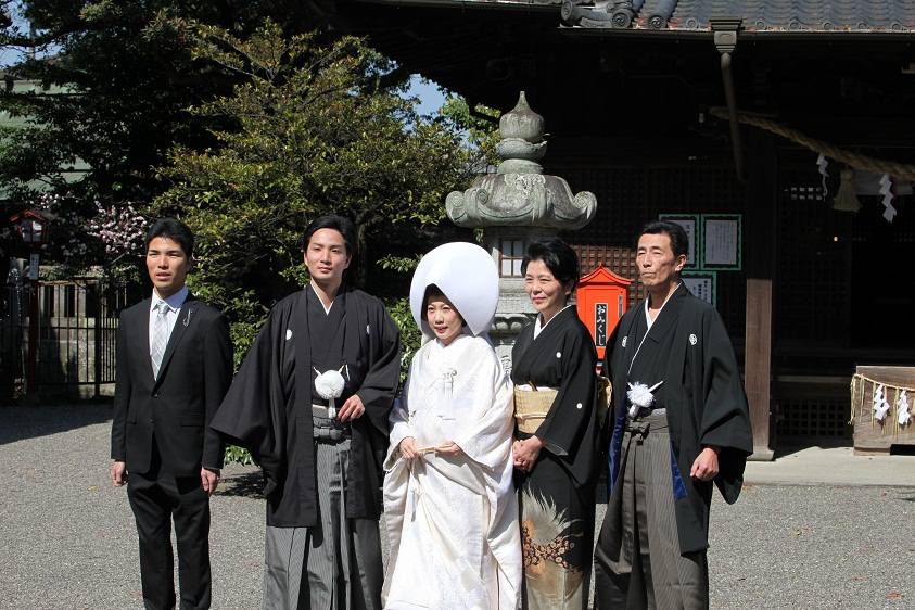 八坂神社 神前式_d0230676_1449311.jpg