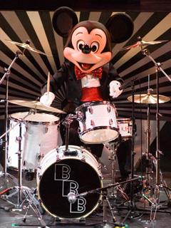 ミッキーのドラムセッション キャー ヾ(≧∇≦*)〃ヾ(*≧∇≦)〃 キ...  食べられないケ