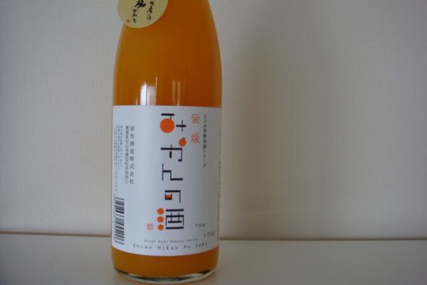 みかんのお酒_a0186034_8105537.jpg