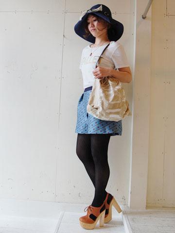 Enveloppe☆ユニークなHat 2wayバッグ  by Emina_f0053343_22201283.jpg