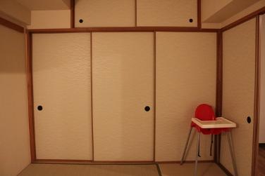 ・和室のおもちゃ収納。_d0245268_0193482.jpg