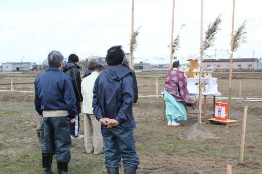 扇田の家:地鎮祭 設計GL_e0054299_13461771.jpg