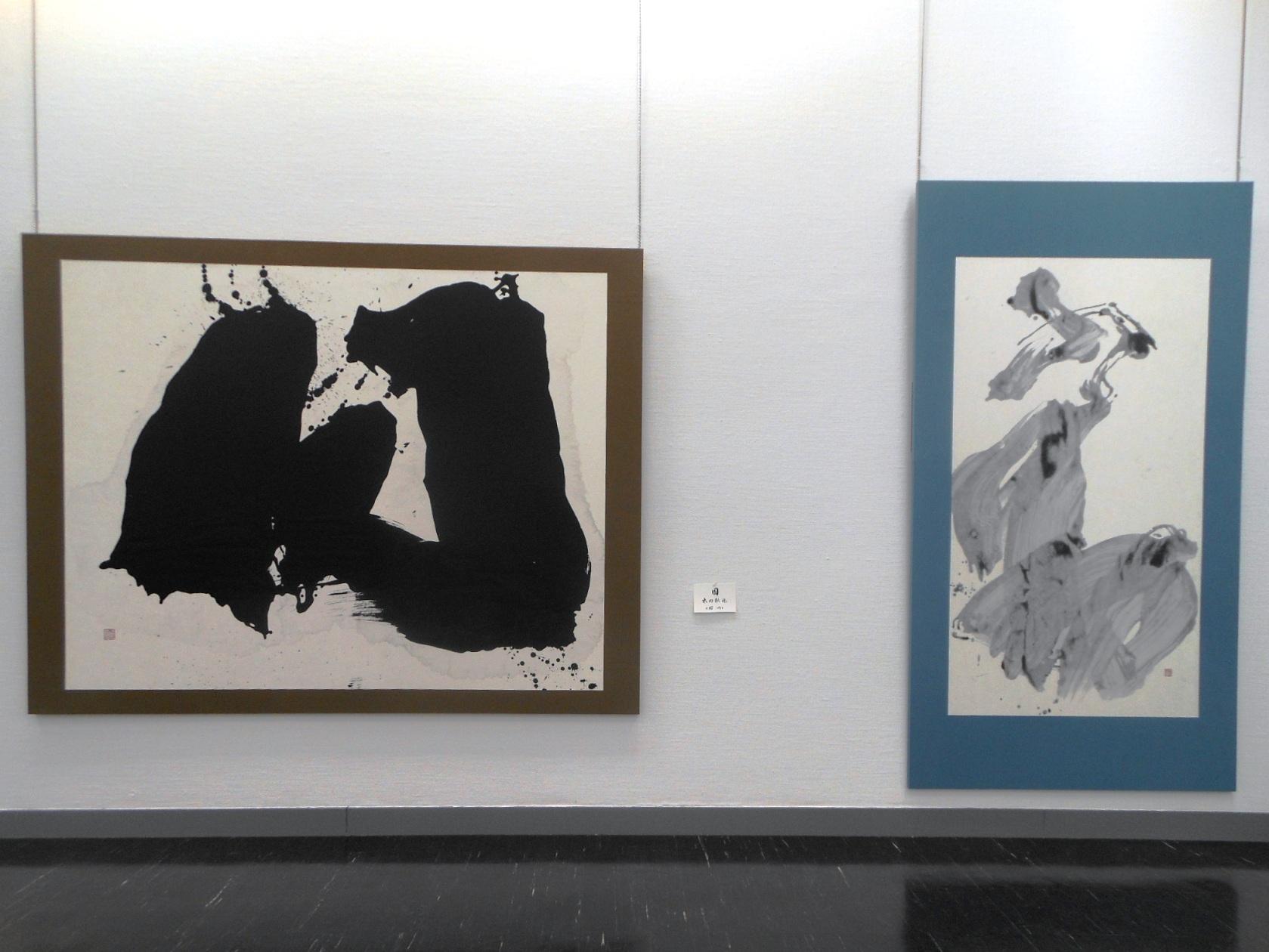 1690)「第26回 北海道墨人展」 市民ギャラリー 4月4日(水)~4月8日(日) _f0126829_15114489.jpg