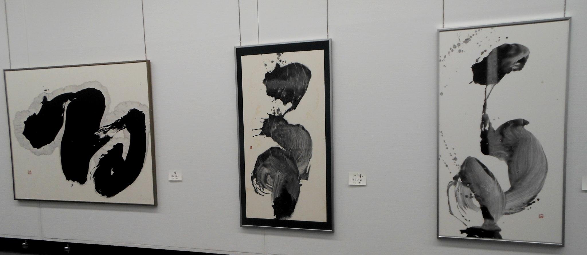 1690)「第26回 北海道墨人展」 市民ギャラリー 4月4日(水)~4月8日(日) _f0126829_1535887.jpg