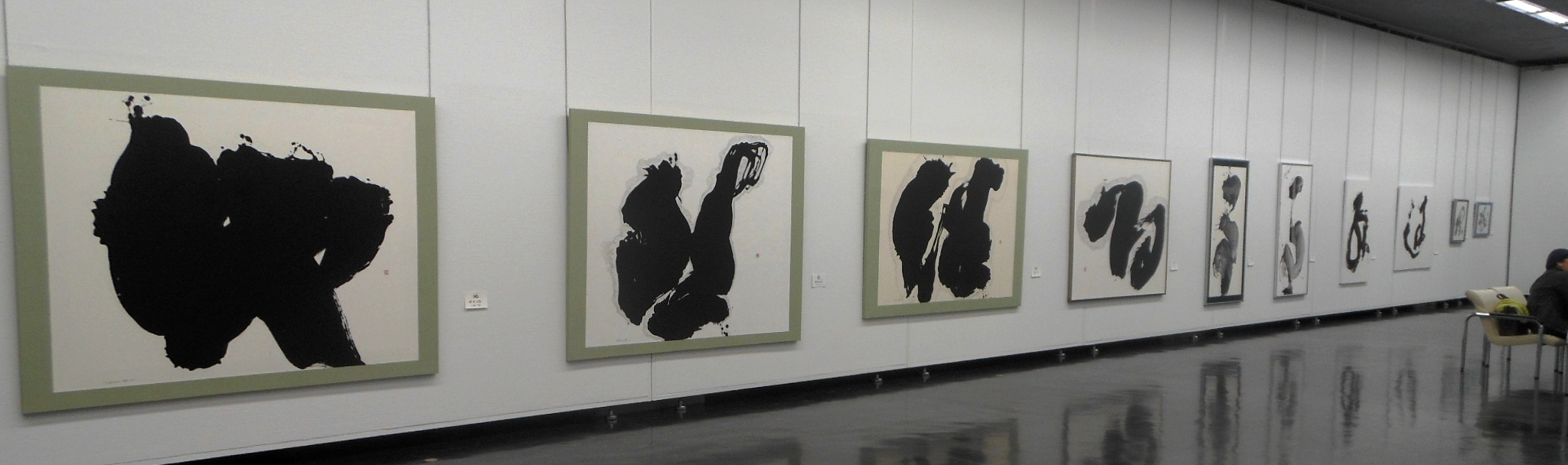 1690)「第26回 北海道墨人展」 市民ギャラリー 4月4日(水)~4月8日(日) _f0126829_1581984.jpg