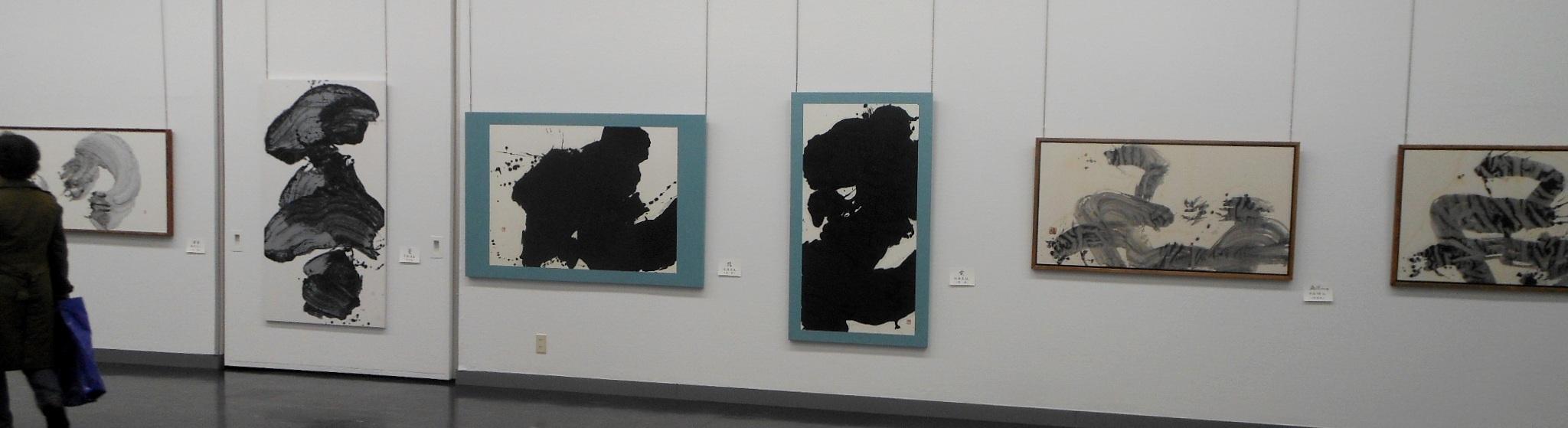 1690)「第26回 北海道墨人展」 市民ギャラリー 4月4日(水)~4月8日(日) _f0126829_16302728.jpg