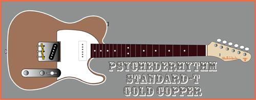 今月下旬に「Gold Copper色のStandard-T」を4本発売ッ!_e0053731_1972390.jpg