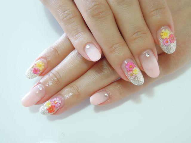 Spring Flower Nail_a0239065_14515687.jpg