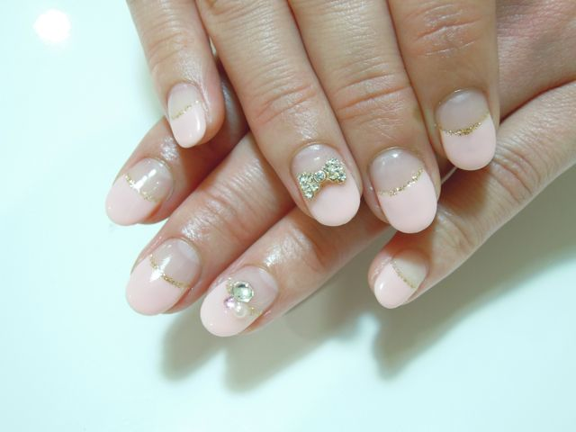 Pickup Nail〜Pink_a0239065_21102556.jpg