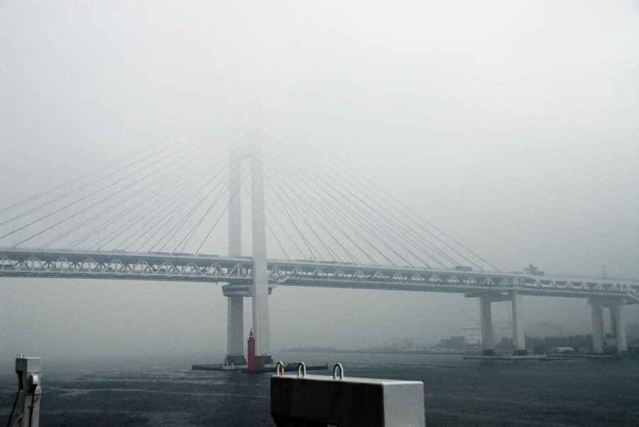 東京・横浜ワンナイトクルーズ -7:航跡・帰港_e0152866_23472621.jpg
