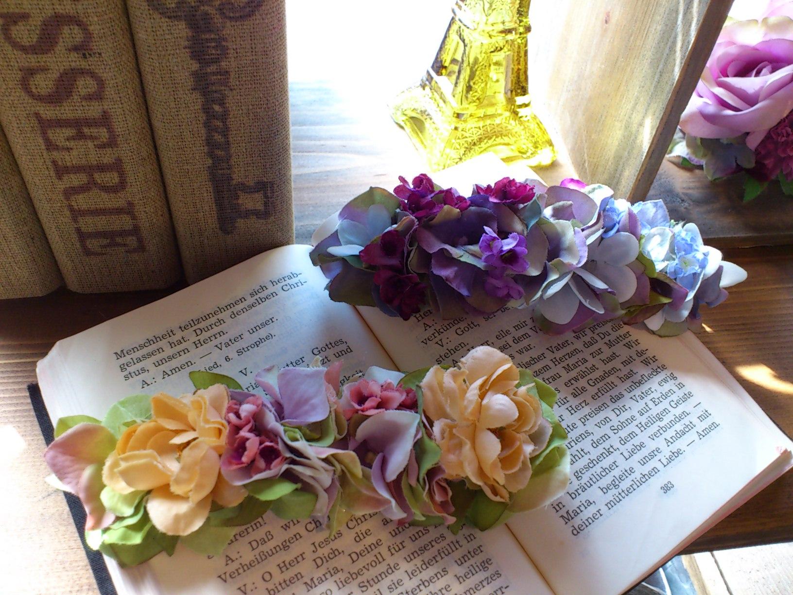 お花のバレッタ_e0128024_14173876.jpg