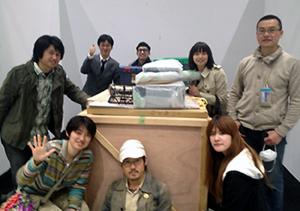アートフェア東京の撤収作業_b0052471_22295789.jpg