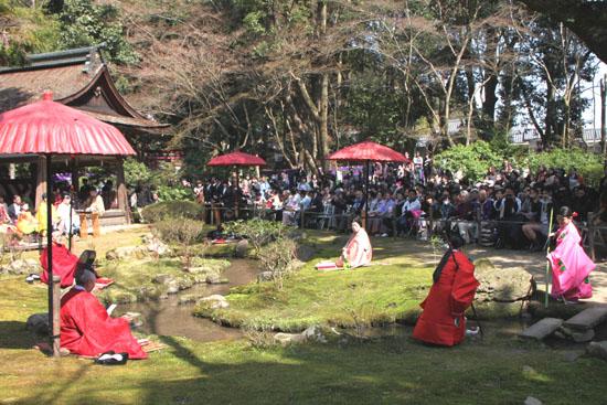 賀茂 曲水の宴 上賀茂神社_e0048413_2226112.jpg