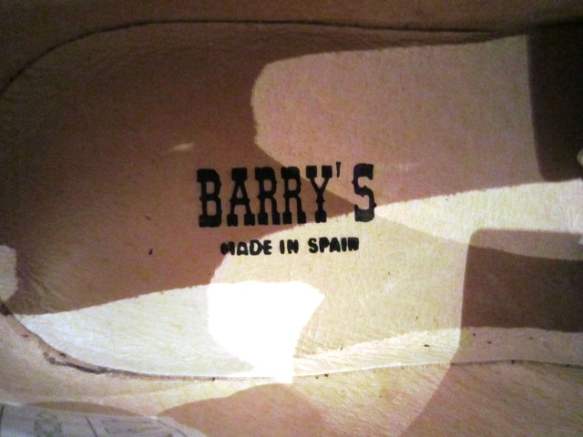 ""\""""Barry's"""" from Spain   ご紹介_f0191324_9252739.jpg""640|480|?|en|2|c4f1c11083f624a1e8b41d8ab32e7478|False|UNLIKELY|0.2852785885334015
