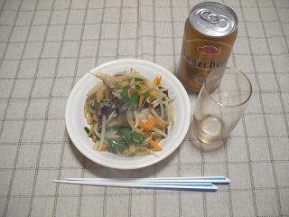 されど野菜炒め_c0216937_11344969.jpg