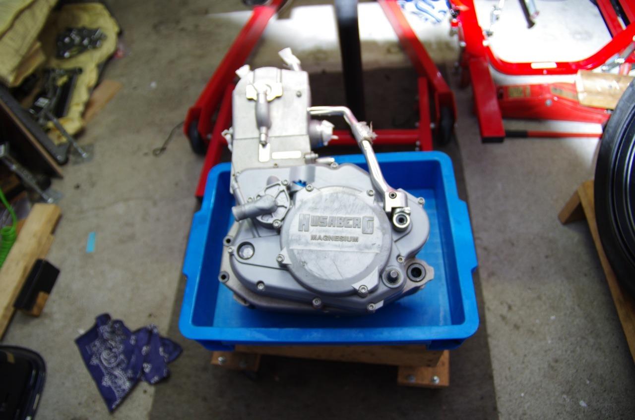 【フサベル】エンジン完成、、、、、あ(汗)_e0159646_22164129.jpg