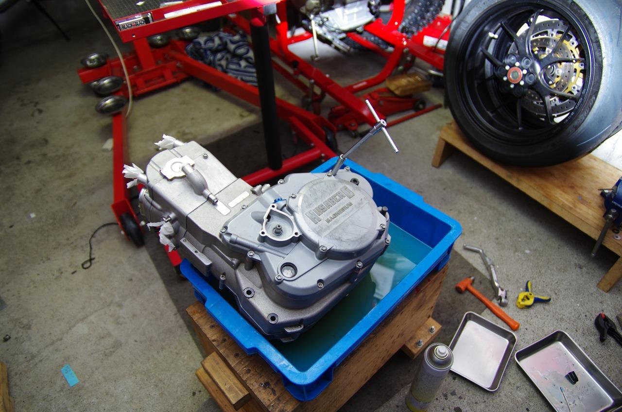 【フサベル】エンジン完成、、、、、あ(汗)_e0159646_2223501.jpg