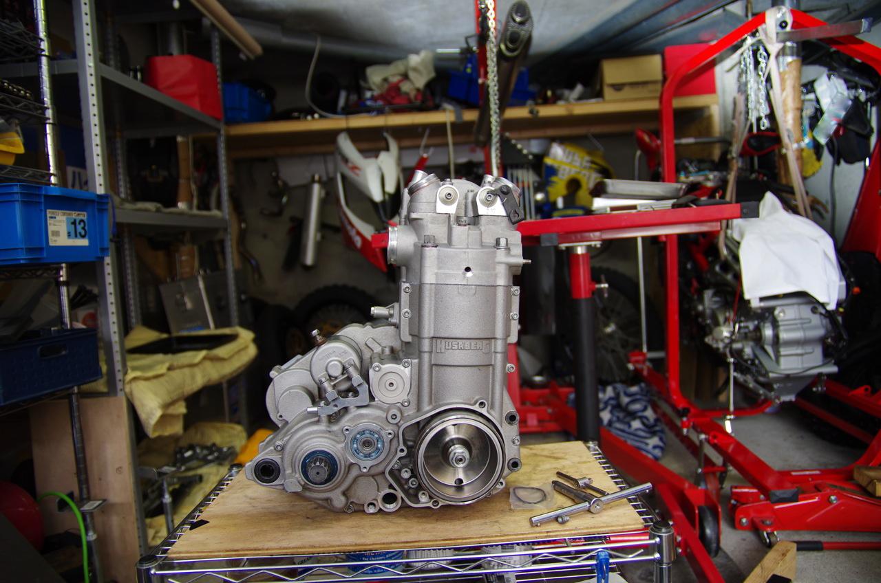 【フサベル】エンジン完成、、、、、あ(汗)_e0159646_22375550.jpg
