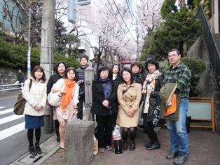毎年恒例の桜坂お花見・満開にはもう少し…_b0160959_1130477.jpg