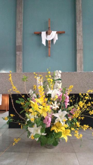 美しい朝。。。イースターサンデー2012 Very Happy Easter。。。 *。:☆.。† _a0053662_2345717.jpg