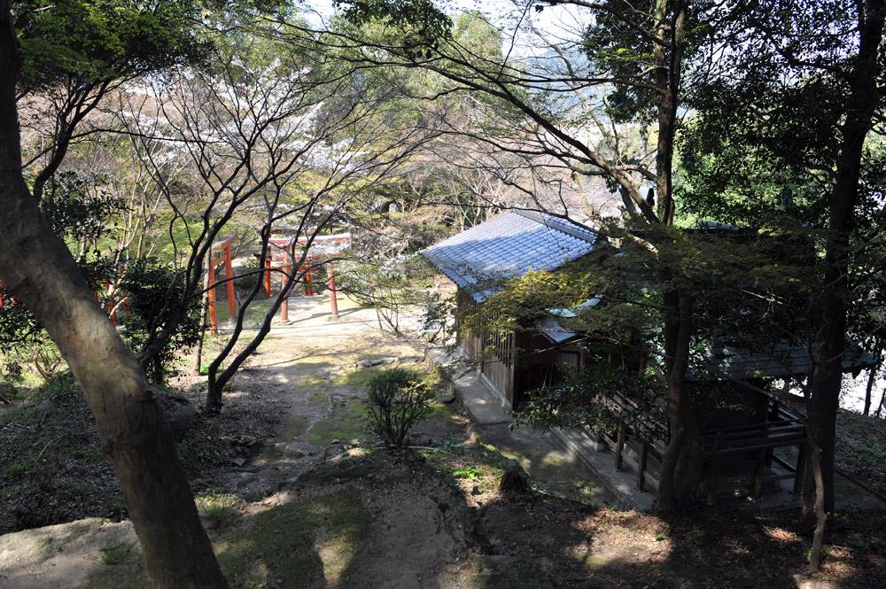 宝満宮 竃門神社 桜の季節_a0042310_10105793.jpg
