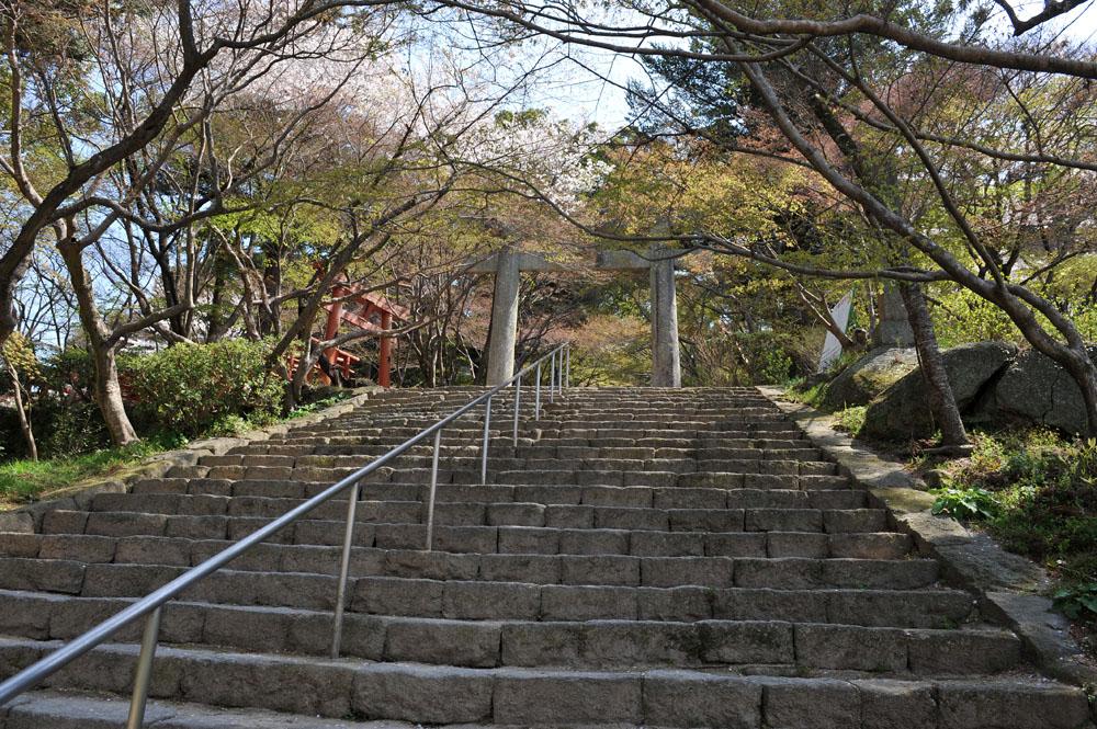 宝満宮 竃門神社 桜の季節_a0042310_101123.jpg