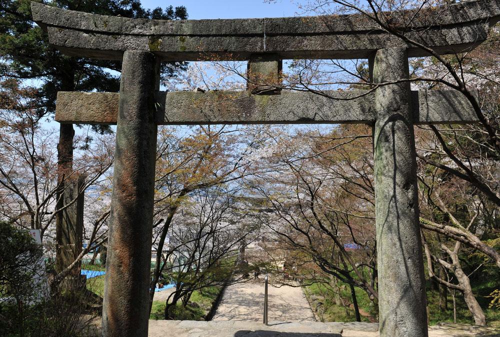 宝満宮 竃門神社 桜の季節_a0042310_1012448.jpg