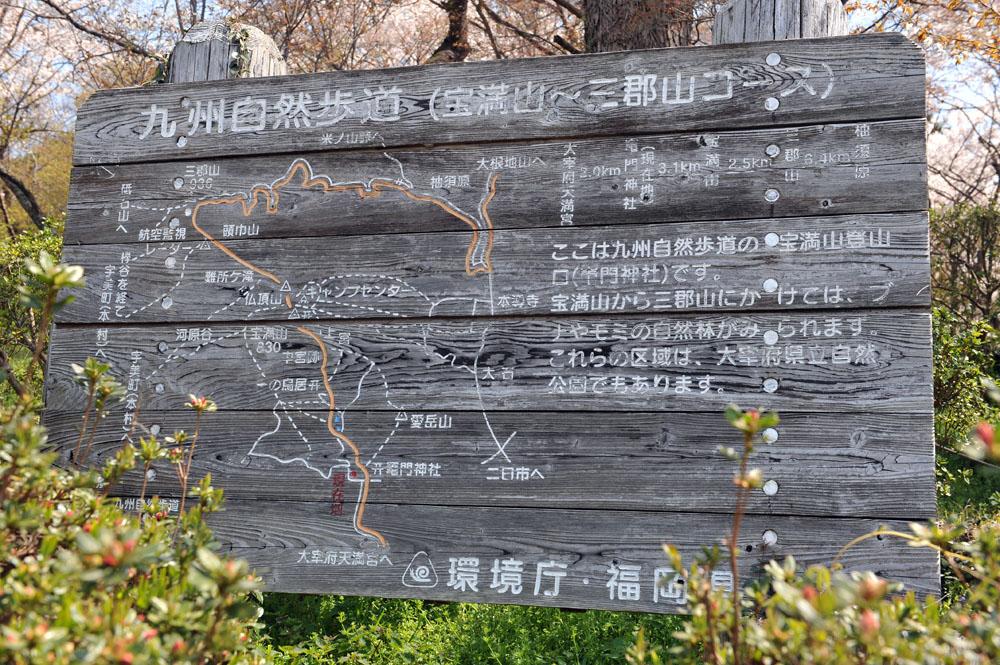 宝満宮 竃門神社 桜の季節_a0042310_1018418.jpg