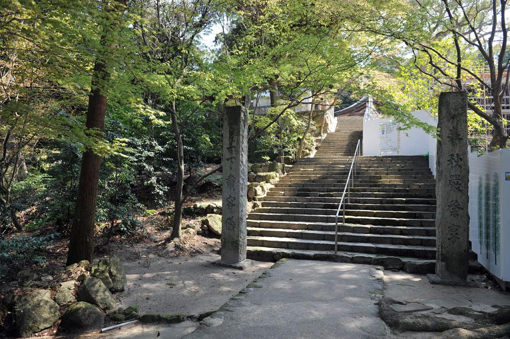 宝満宮 竃門神社 桜の季節_a0042310_104373.jpg