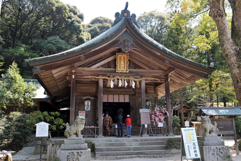 宝満宮 竃門神社 桜の季節_a0042310_1053492.jpg