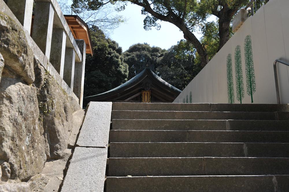 宝満宮 竃門神社 桜の季節_a0042310_105653.jpg