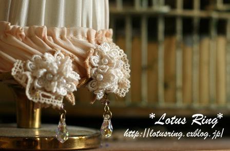 小花とネックレスとイヤリングのセット*_a0169912_17521590.jpg