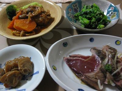 ここ数日の夕飯、お弁当♪_f0116812_20112917.jpg