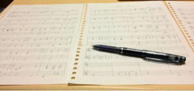 幸せ♪と感じながら楽譜を作る♪_f0230569_20373396.jpg