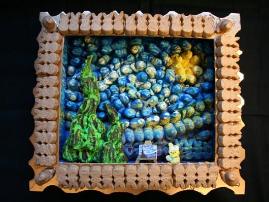 マシュマロのお菓子、ピープスを使ったジオラマ作品のコンテスト_b0007805_21232250.jpg