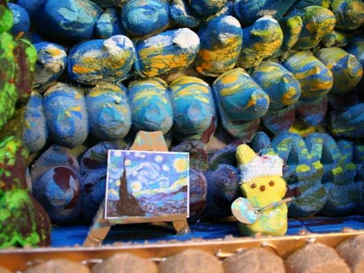 マシュマロのお菓子、ピープスを使ったジオラマ作品のコンテスト_b0007805_21233049.jpg