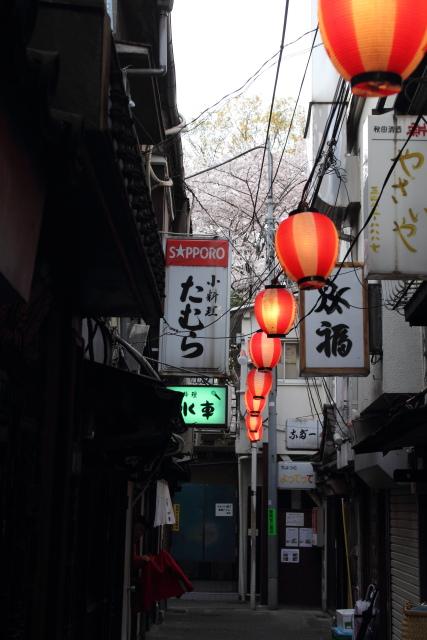 渋谷  のんべい横丁の春_b0061717_1392310.jpg