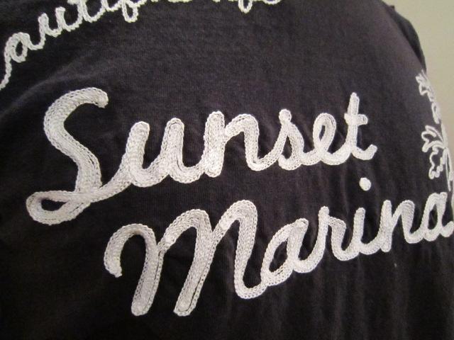 "melple""Sunset Marina刺繍ベーシックTee""入荷_f0191324_2313984.jpg"