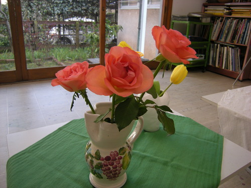花シリーズ〜春だより    アトリエMIWA_c0131063_23392987.jpg