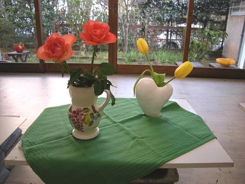 花シリーズ〜春だより    アトリエMIWA_c0131063_23473789.jpg
