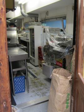 山中製麺所 / 船場に来た豚骨ラーメン_e0209787_1364574.jpg