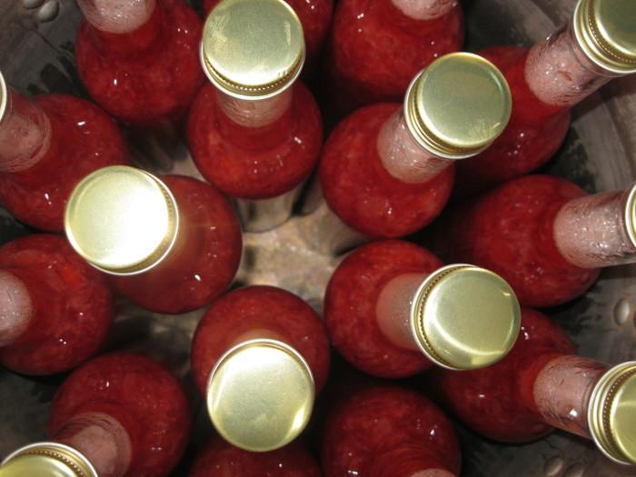 あまおう「天然シロップ苺」作り~☆_a0125419_16115377.jpg