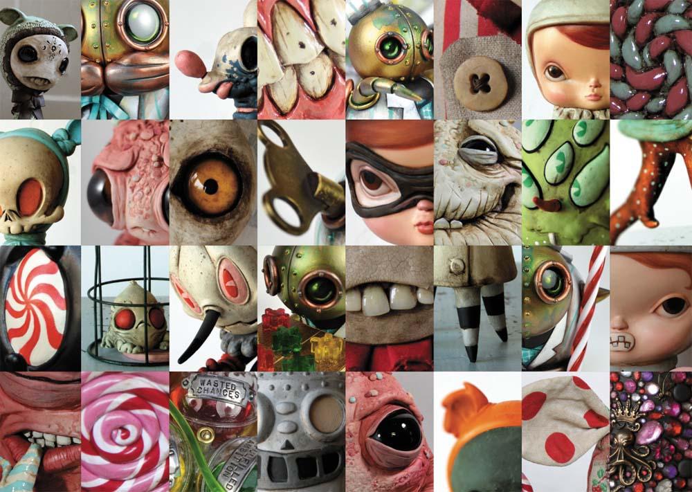 Monsters & Misfits II、展覧会図録より_a0077842_11124541.jpg
