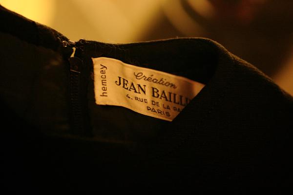 60\'s hemcey JEAN BAILLIE ジャケット&ワンピース_e0243096_21324010.jpg