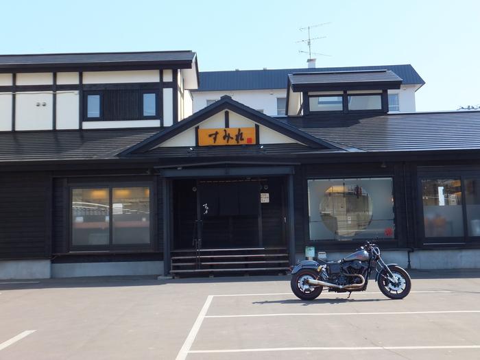 ローライダー in 札幌 すみれ 味噌ラーメン !!_c0226202_22443149.jpg